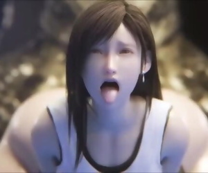 3D Tifa vs Monster