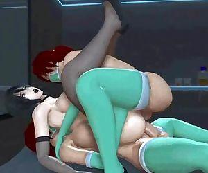 Hentai 3D gif video