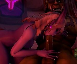 Sexy Warcraft Draenei..