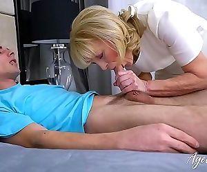 AgedLovE Grandma Hardcore Fucking Exerience 8 min HD+