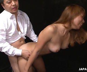 Asian tiny babe gets..