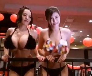 Hitomi Tanaka and Anri..