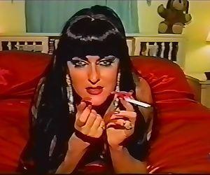 Vintage smoking fetish..