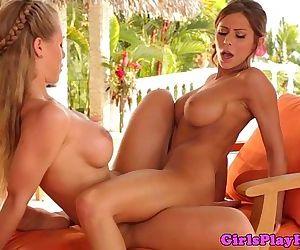Madison Ivy and Nicole..
