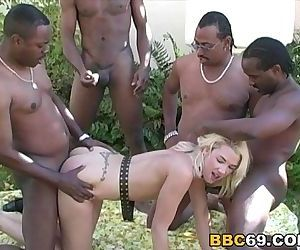 BBC Orgy With Olivia..