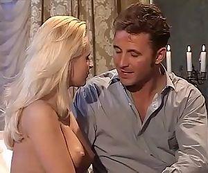 Amazing blonde anal..