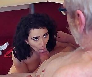 Cute Teen Fucked by Big..