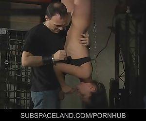Innocent helpless slave..