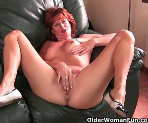 Mature and redheaded..