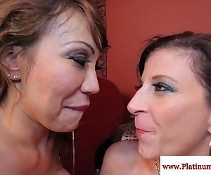 Ava Devine and Sara Jay..