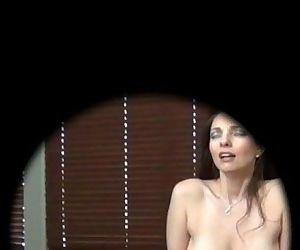 Peep Hole Spy Cam Mindi..