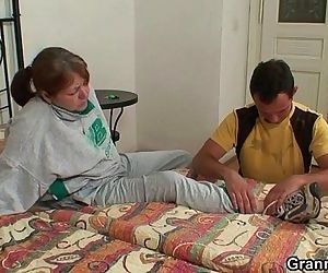 He heals grandma with..