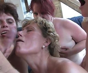 Horny old sluts n one x..