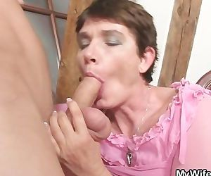 Horny mother in law..