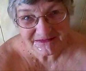 Old granny really loves..