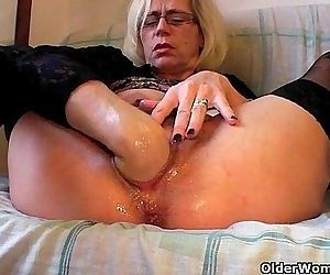 Slutty grandma in..