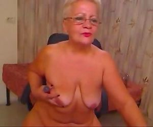 Pervert grandma having..
