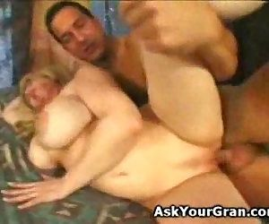 big breatsed granny..