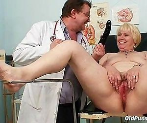 Chubby blond mom hairy..