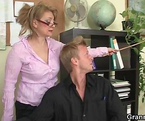 Hot office sex with..