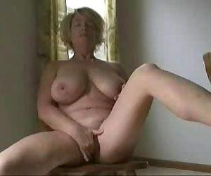 Cute busty granny..