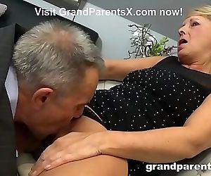 Old Couple Teaches Teen..