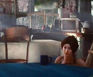 Lara croft Amoral
