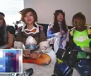 Overwatch Cosplayers..