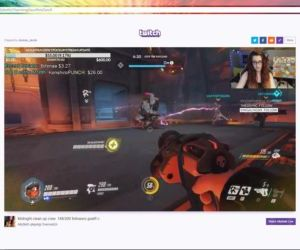A- Overwatch Gameplay