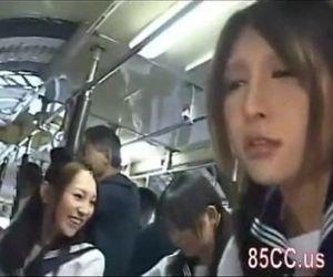 Asian schoolgirls..