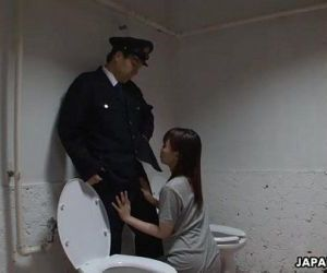 Asian prisoner sucking..