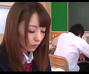 Oriental schoolgrl goes..