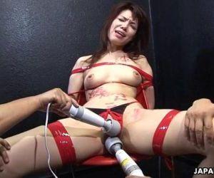 Asian bitch getting..