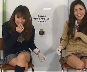 Japanese femdom give..