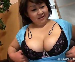 Fat Japanese woman..
