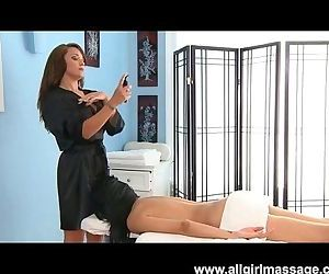 Lesbian Massage With..