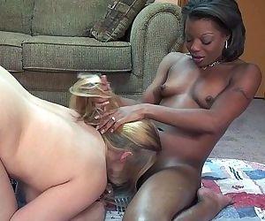 Gorgeous interracial..