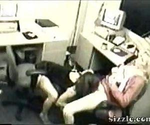 Lesbian office sex