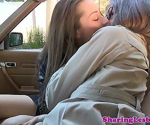 Real lesbian lovemaking..