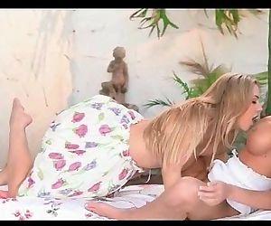 Sophia Knight and Daisy..