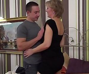 Horny housewife fucking..