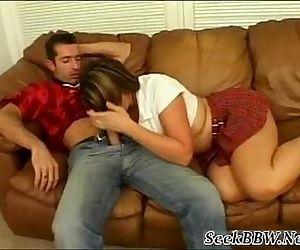 Hot Schoolgirl with Big..