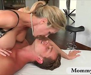 Hot big boobs stepmom..