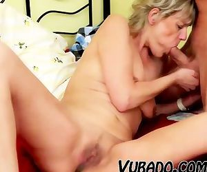 MILF GETS FUCKED IN..