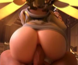 OVERWATCH MERCY POV..