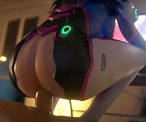 D.va deepthroat when..