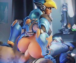 Overwatch Pharah anal..