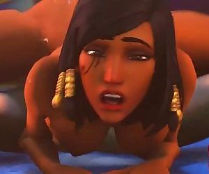 Pharah Loves Dick 1 min..