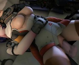 Futa Widowmaker Fucks..