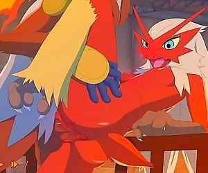 Pokemon: Blaziken and..